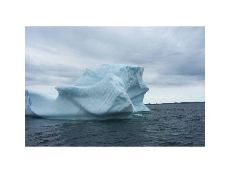 One side of iceberg