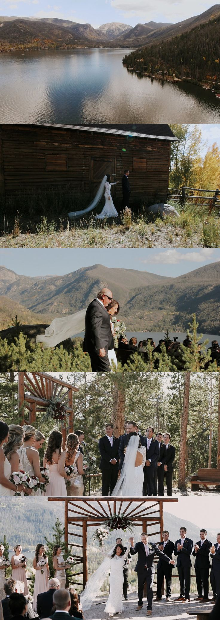 http://www.insanebuzz.com/videoproduction.htm  Gorgeous Rocky Mountain Wedding - Grand Lake, Colorado