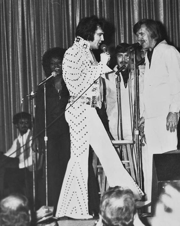 """Elvis in Jacksonville, Florida - April 16th, 1972 A/S. ... """"good show, good show,"""" Mr  Esposito declared in the back of the limousine later that day. :)"""