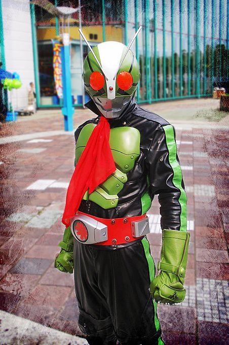 Kamen Rider 2 cosplay by RyoNagasaki