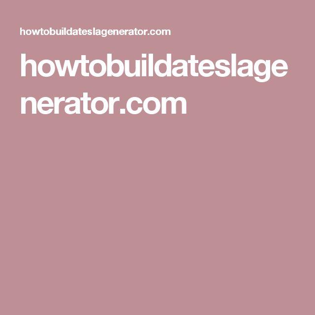 howtobuildateslagenerator.com                                                                                                                                                                                 More