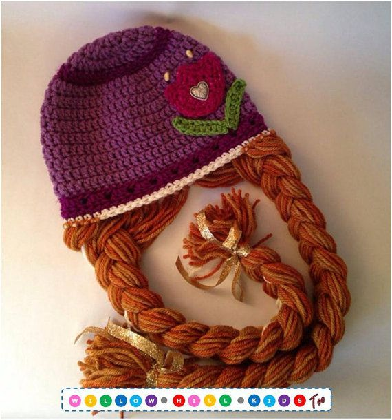 Frozen Anna Hat by WillowHillKidsToo on Etsy