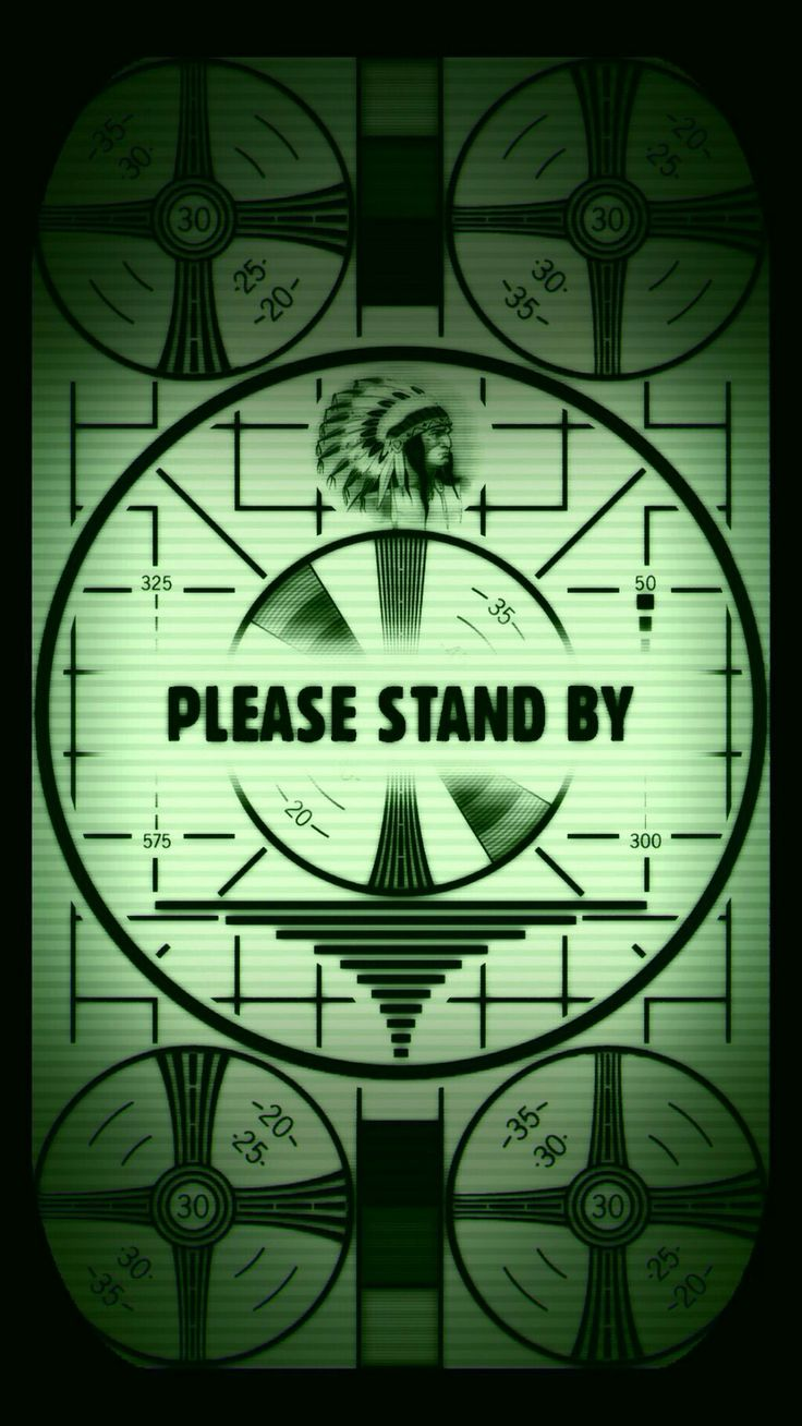Fallout please stand by screen