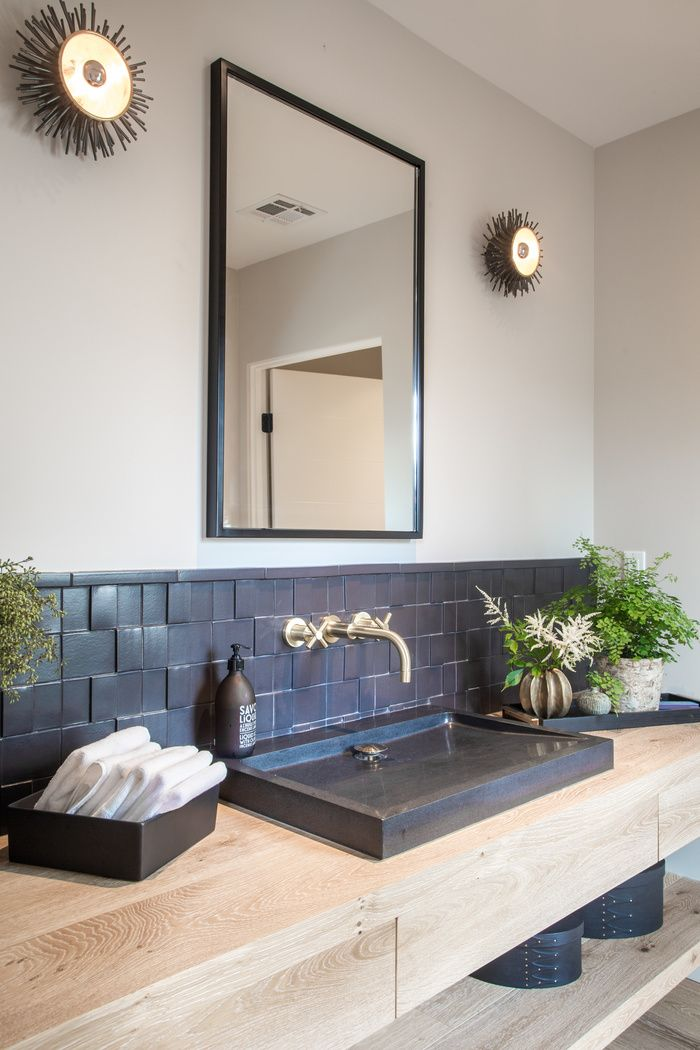 Counter top basins are one of our favourite trends at the minute - endlessly stylish!