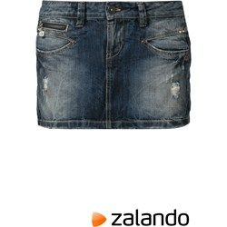 Freeman T. Porter JALEXA Spódnica jeansowa niebieski