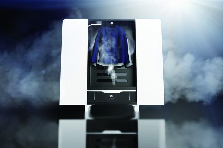 A Closet that Cleans with Steam! | Yanko Design