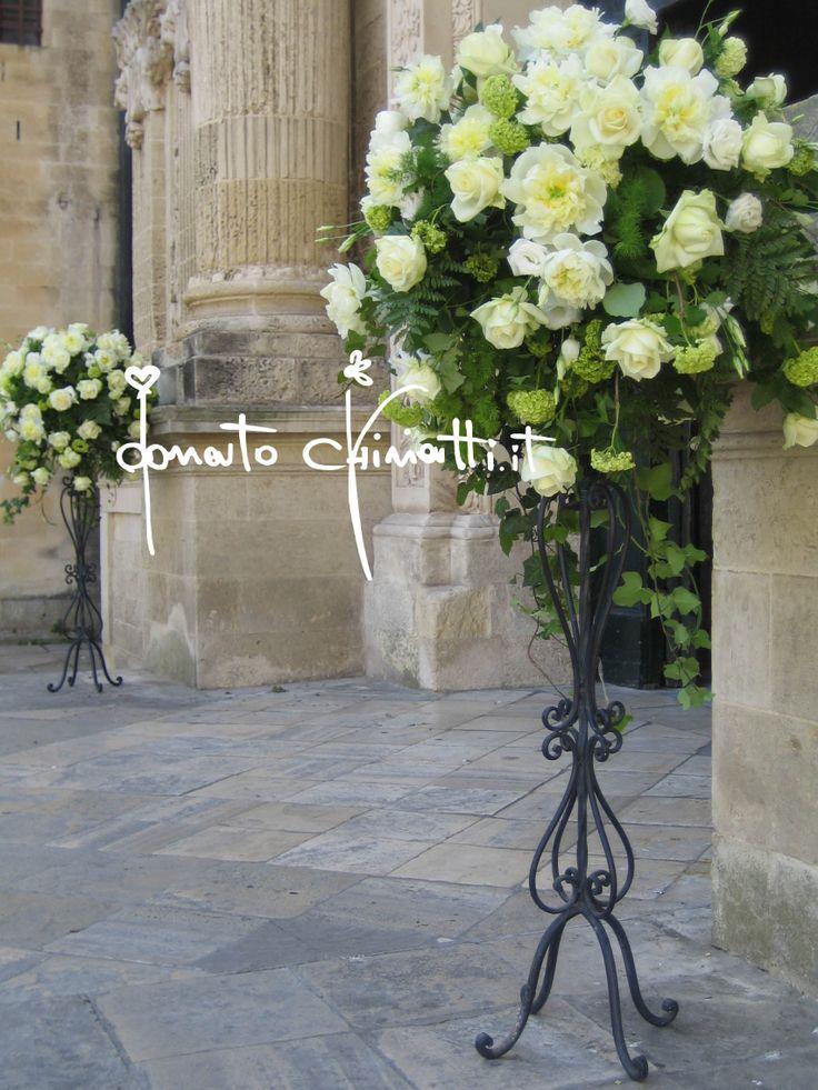 #MatrimonioALecce #Stile #AllestimentiFloreali #Sposa #DonatoChiriatti