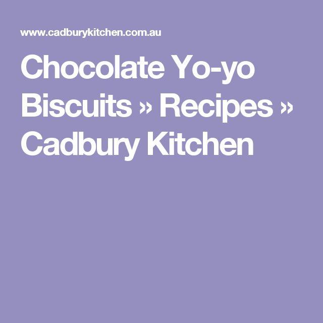Chocolate Yo-yo Biscuits » Recipes » Cadbury Kitchen