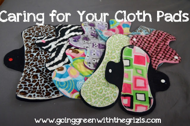 Ever since I posted my tutorial for making your own cloth pads, or mama cloth, I've been getting questions about how to care for them to make them last. There are actually a few different ways to wash them and I think it really comes down to your own personal preference, as well as your unique period.