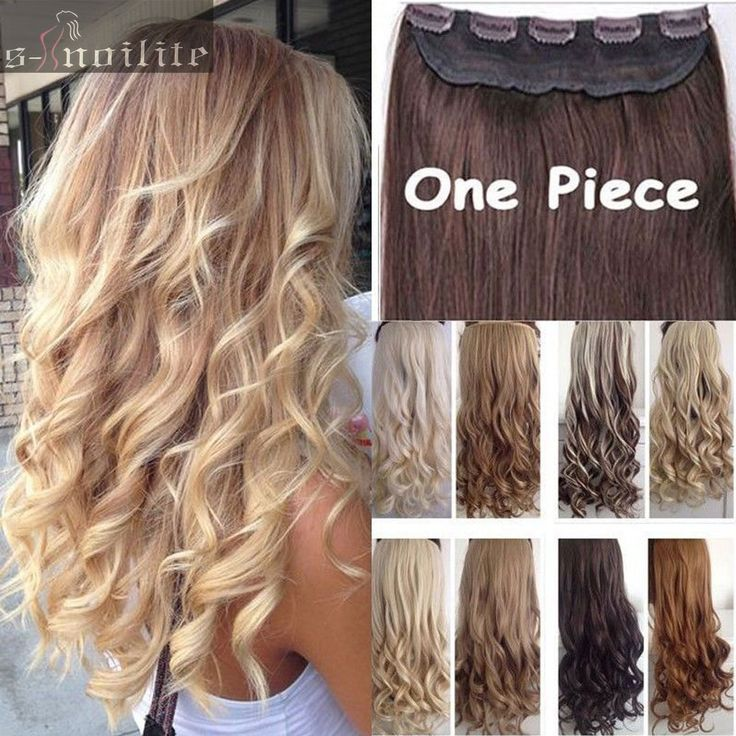 """Big Discount! 17""""-26"""" Curly/Wavy Long Women lady Clip in Hair Extensions 100% Real Natural Hair Extentions Local Fast Shipping"""