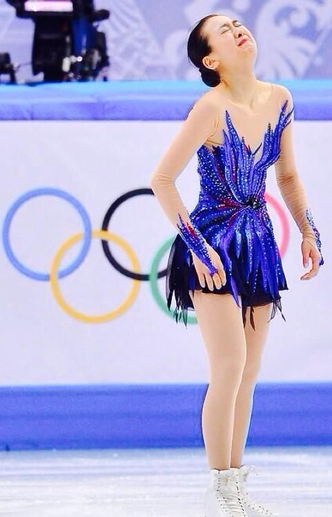 She is highest technical skater & fighter! awesome x)!! Her performance and mind to triple axel(high technic) will find a place in history XD!!! Mao Asada