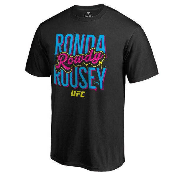 Ronda Rousey UFC Triple Deck T-Shirt - Black - $24.99