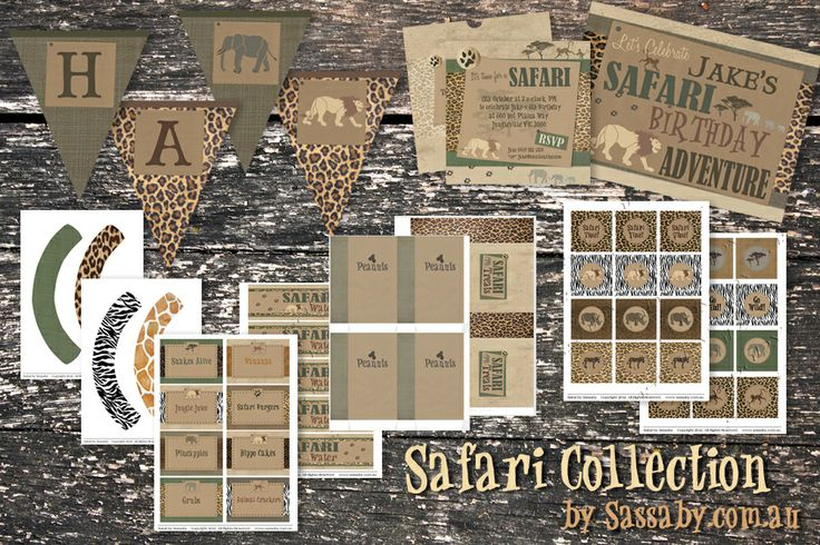 Safari Party Collection | Sassaby