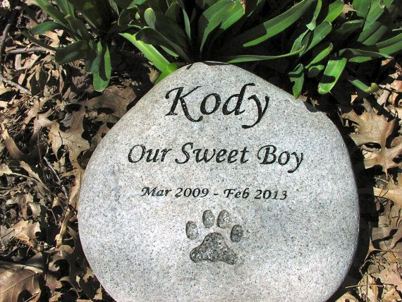 10 Best Images About Pet Memorial Stones Diy On Pinterest
