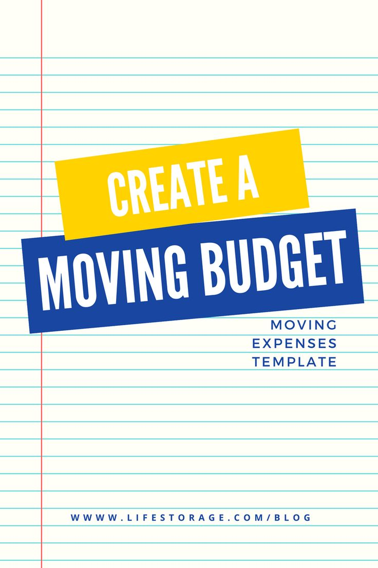 Try our free moving budget template to calculate the cost of your next move. There are lots of forgotten fees that go along with moving. Don't get blindsided by not setting a realistic budget before moving day! #moving #budgeting #movingday #budget #finances #spreadsheet #freetemplate #free
