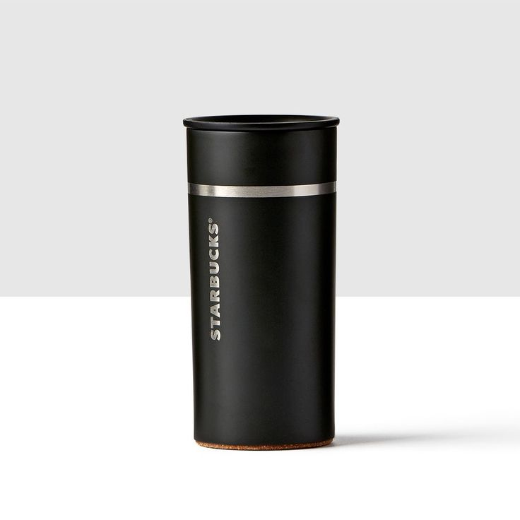 Verismo® Stainless Steel Black Tumbler. Make your mornings look and taste fantastic with this tumbler designed to fit your Verismo® V Brewer.