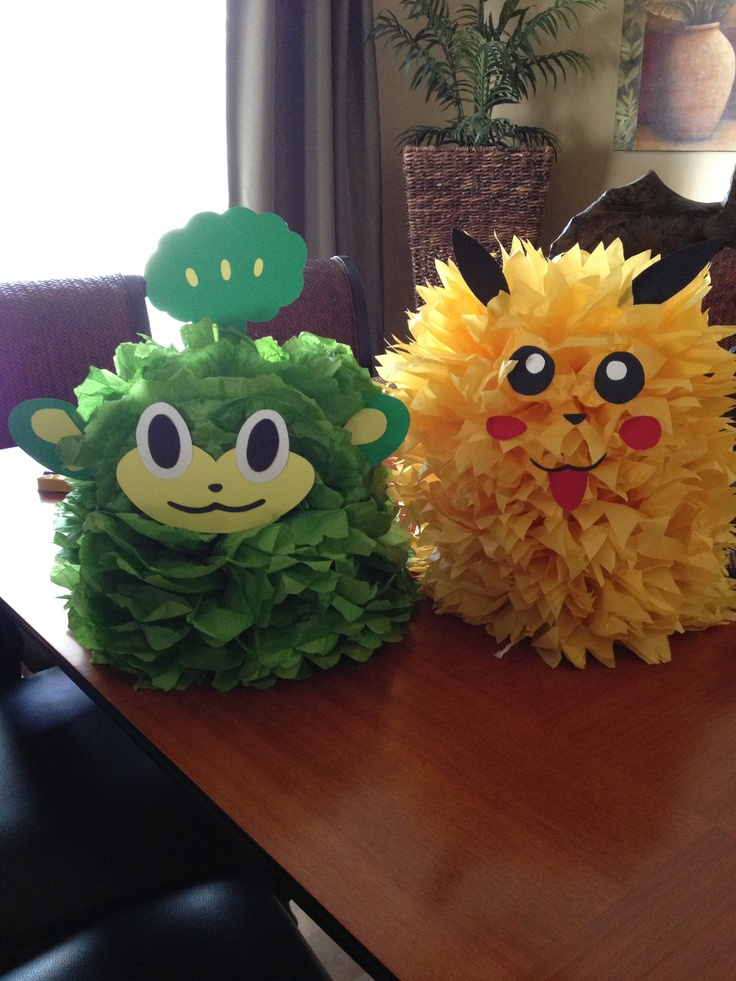 DIY Pokemon characters... Cute as cake toppers Pokemon