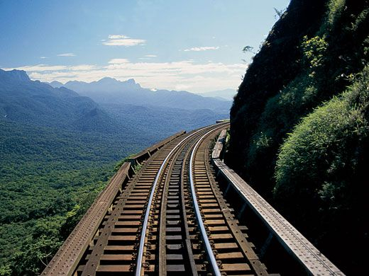 Train Ride - Serra do Mar, Parana, Brazil