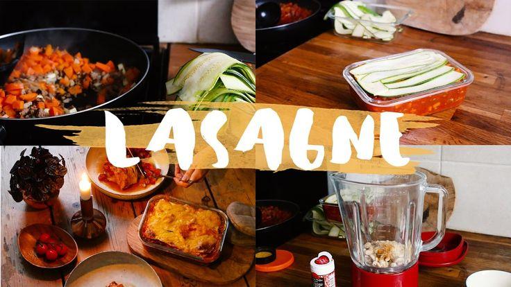 Zucchini-Lasagne ohne Nudeln: Einfach, schnell, low carb | VEGAN