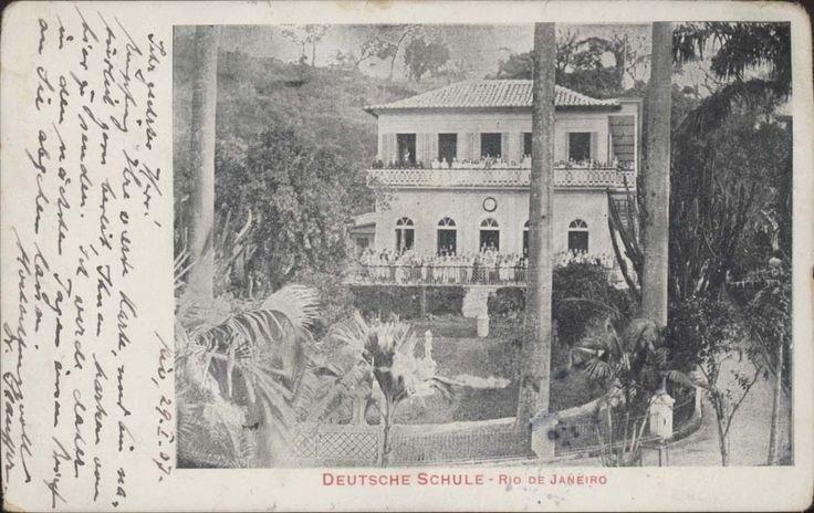 Brazil Rio de Janeiro Deutsche Schule 1907 Ed Schmidt | eBay