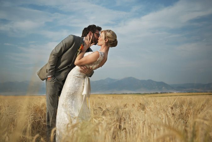 A Perfect Montana Wedding: Derek and Mary 8.17.2013 | http://www.thekitchenpaper.com/a-perfect-montana-wedding-derek-mary-8-17-2013/
