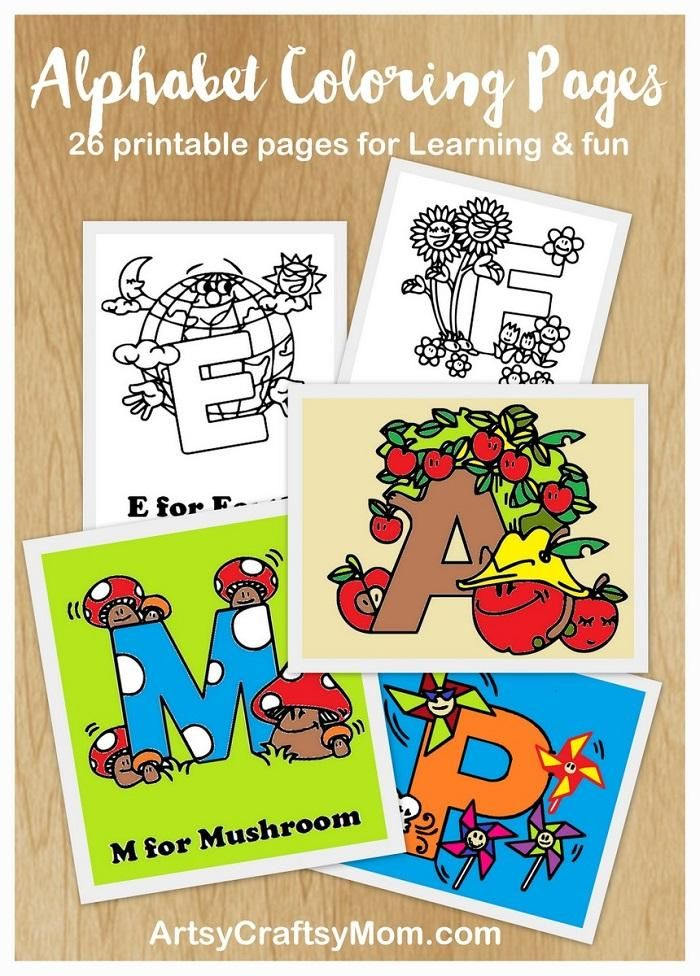 free alphabet letter coloring pages - Fun Letters To Print