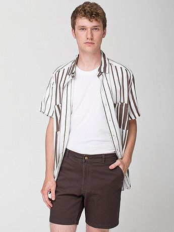 """American Apparel: """"Sateen Slater Short"""" (Preferred colour: Military Olive)"""
