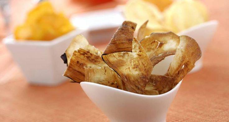 Ricetta di Chips di melanzane