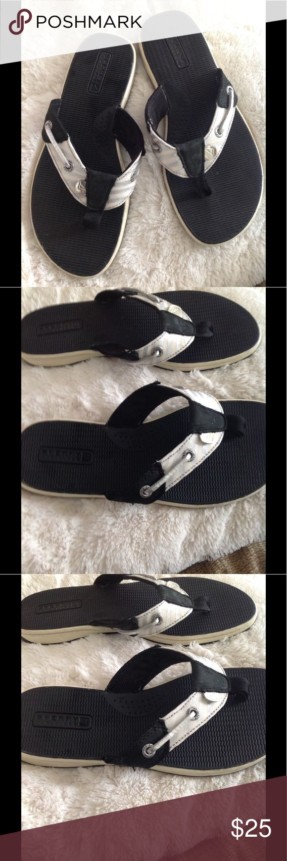 Sperry sandals Worn a few hours Sperry sandals excellent condition, no signs of wear. Sperry Top-Sider Shoes Sandals