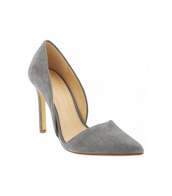 Banana Republic Adelia D'Orsay Pump, Kitten Grey