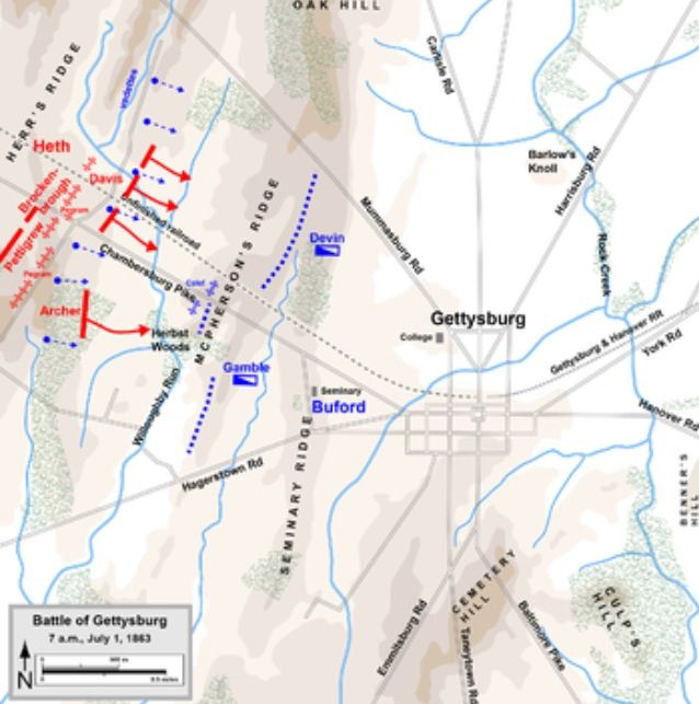 Best Gettysburg Maps Images On Pinterest Civil Wars - July 1 1860 map of the us