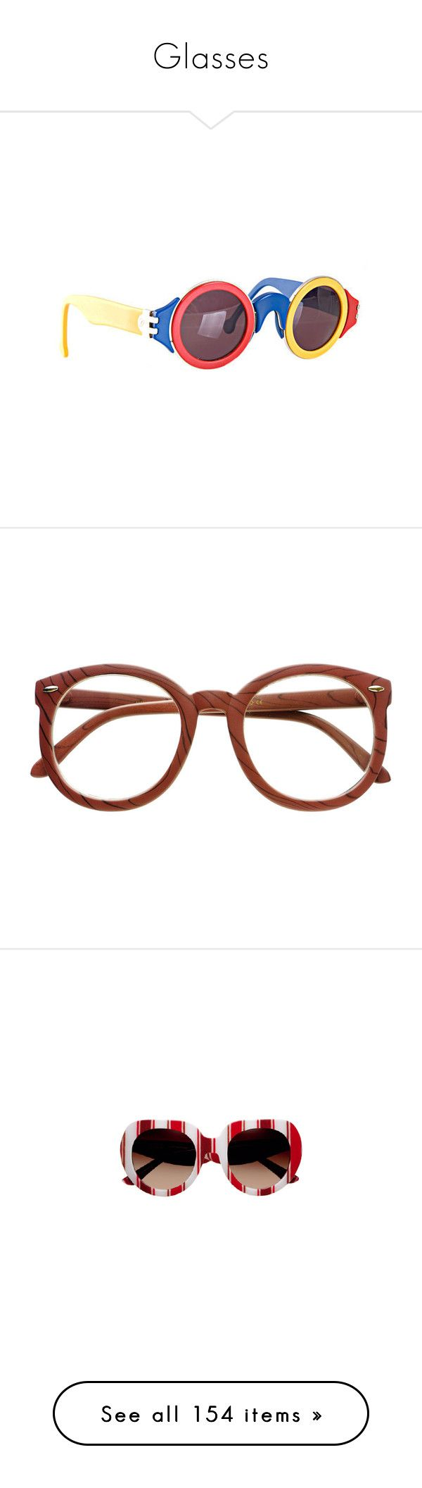 """""""Glasses"""" by k-ura ❤ liked on Polyvore featuring accessories, eyewear, sunglasses, karl lagerfeld glasses, karl lagerfeld, karl lagerfeld eyewear, karl lagerfeld sunglasses, eyeglasses, glasses and fillers"""