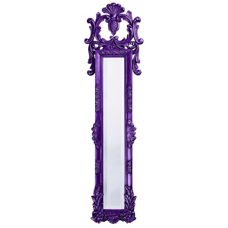"Howard Elliott Thackery Royal Purple Mirror 11"" x 58"" x 2"""