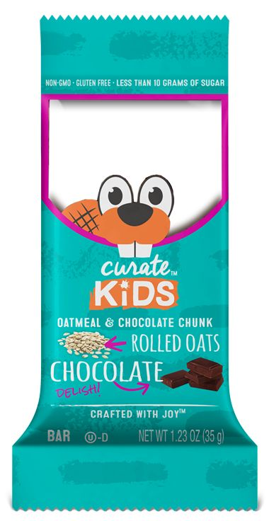 Gluten-free and non-GMO, these bars will keep your kiddos lively and their taste buds happy. They're made with delicious gluten-free oats, unsweetened chocolate and a hint of vanilla.