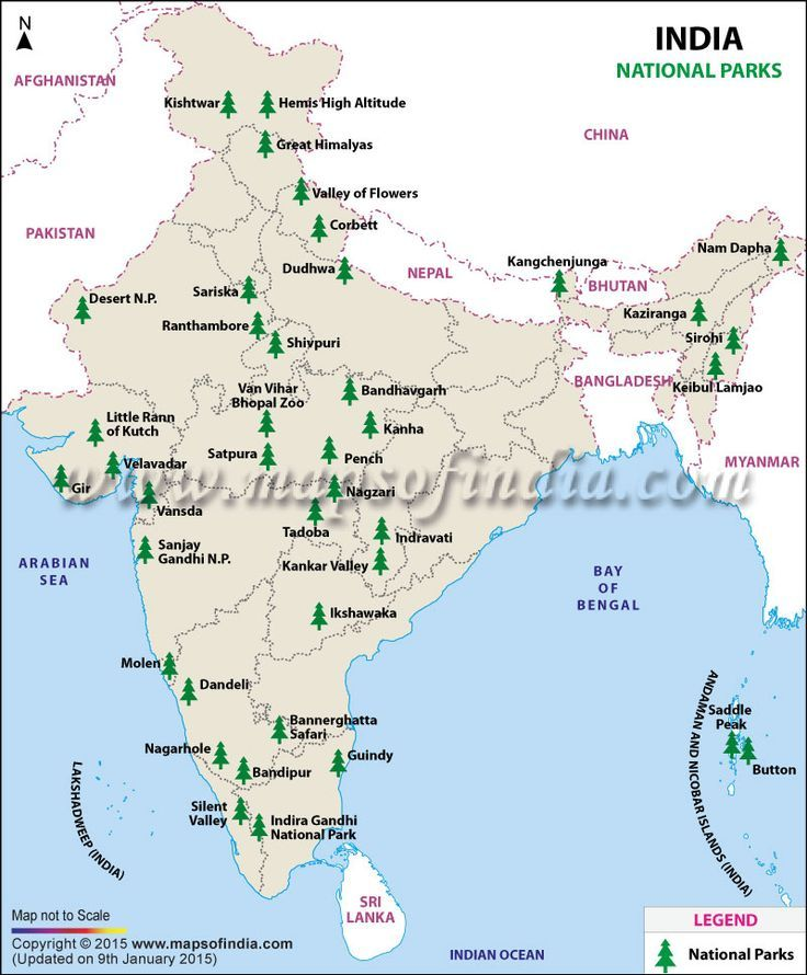National Parks In India India National Nationalparks Parks