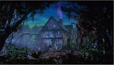 Home Sweet Home for the Sanderson Sisters - Hocus PocusWitches Cottages, Sanderson Sisters House, Hallows Eve, Witches House, Sanderson House, Halloween Fal, Hocuspocus, House'S Hocus Pocus, Halloween Movie