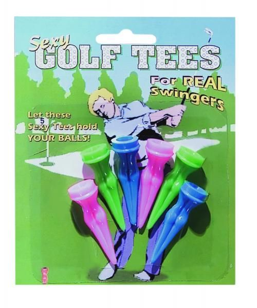 GOLF TEEs for that Golfer in Your Life. (My Dad used to Love these tees. His Golf Buds were always asking for one of them.)