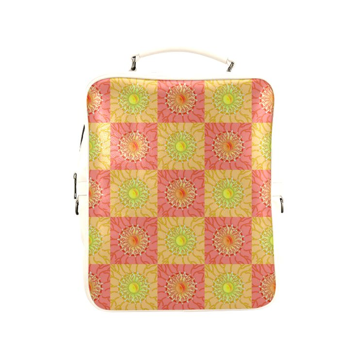 Chequered Sunshine Square Backpack (Model1618)