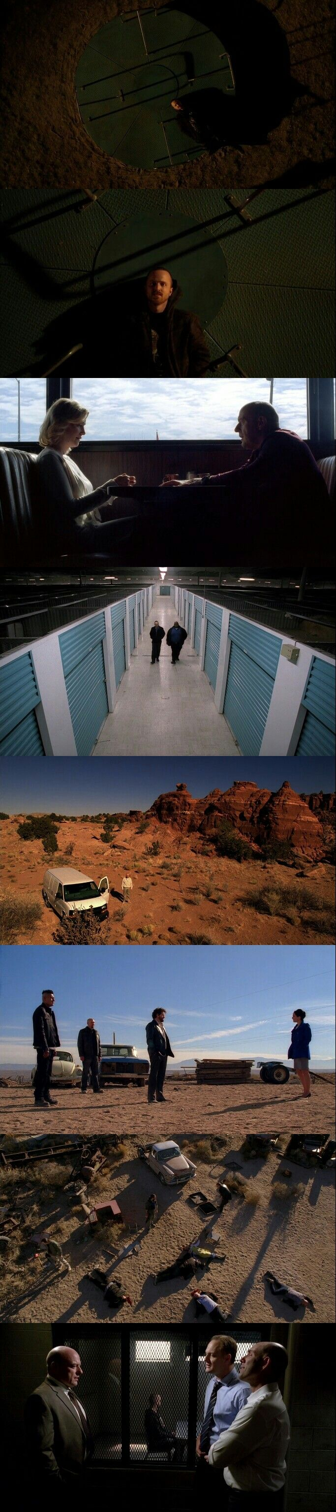 "Breaking Bad (2008 - 2013) Season 5 Episode 10 : ""Buried"""