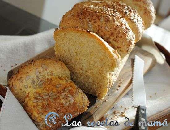 Pan de avena y calabaza
