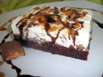 Snickers cake!