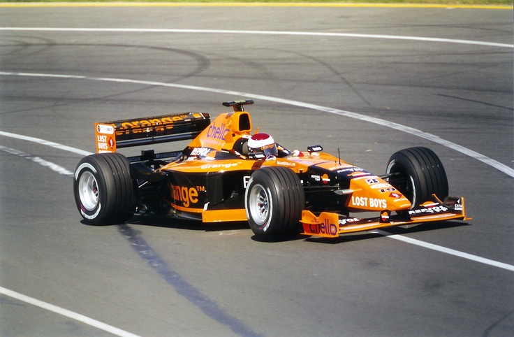 Jos Verstappen (Arrows F1 Team)