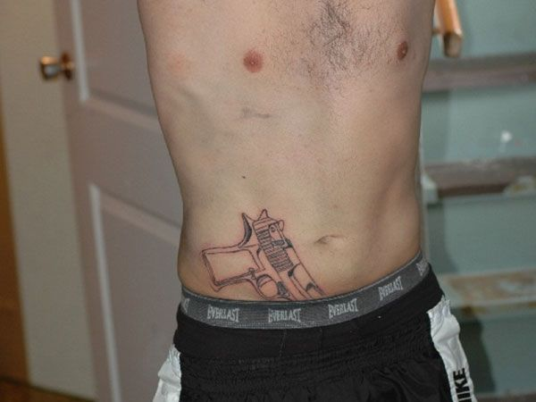Pistol Tattoo