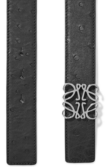Loewe - Leather Waist Belt - Black - 85