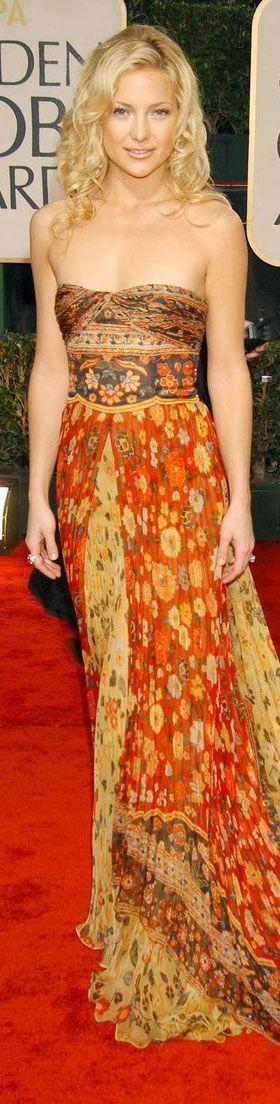 Kate Hudson in Valentino at the Golden Globe Award