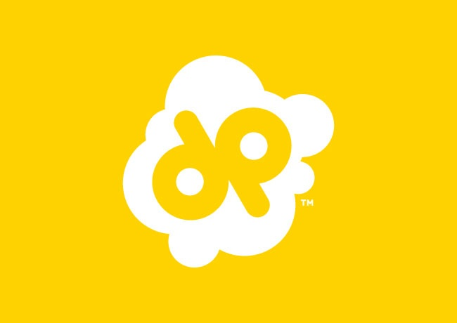 Doc Popcorn Logo My place of work. Cute and simple!