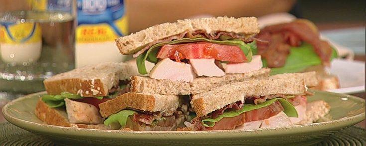 Carla Hall's Turkey Club Recipe | The Chew - ABC.com
