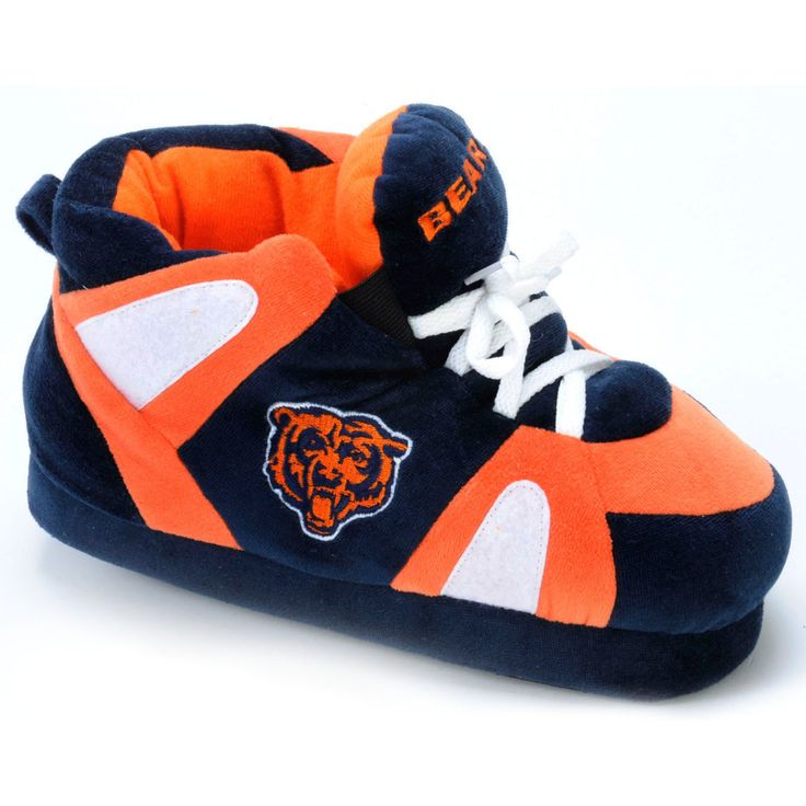 Comfy Feet NFL Sneaker Boot Slippers - Chicago Bears - CHI01LG
