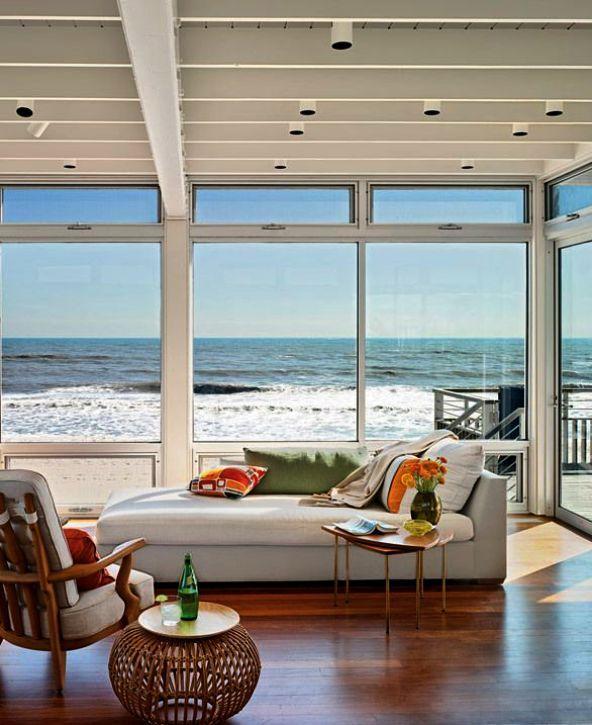 Beach House Elle Decor Beach House Decorating Ideas On A ...
