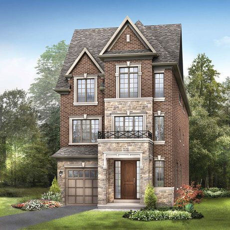 Brick and stone townhouse at Glen Agar, 19 Glen Agar Dr, Etobicoke , Toronto, ON is a new development project by Minto. Check out the property photos, floor plans and amenities. | REW.ca